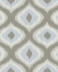 Abra Grey Ogee Wallpaper by