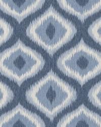 Abra Blue Ogee Wallpaper by