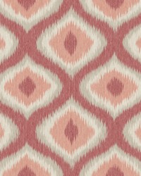 Abra Pink Ogee Wallpaper by