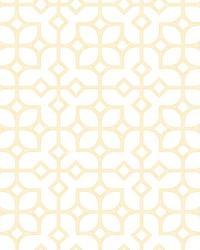 Maze Yellow Tile Wallpaper by