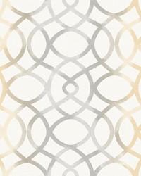 Twister Ginger Trellis Wallpaper by