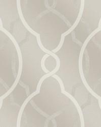 Sausalito Champagne Lattice Wallpaper by