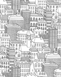 Limelight White City Wallpaper by