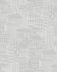 Limelight Grey City Wallpaper by
