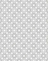 Orbit Dove Floral Wallpaper by