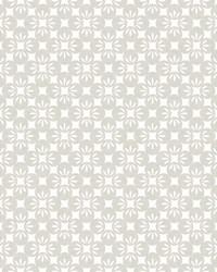 Orbit Neutral Floral Wallpaper by