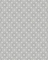 Orbit Grey Floral Wallpaper by