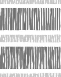 Gravity Black Stripe Wallpaper by