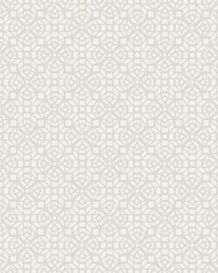 Element Neutral Mosaic Wallpaper by
