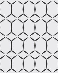 Fusion White Geometric Wallpaper by