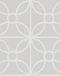 Savvy Neutral Geometric Wallpaper by