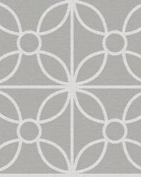 Savvy Grey Geometric Wallpaper by