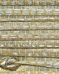 Iriga Platinum Grasscloth Wallpaper by