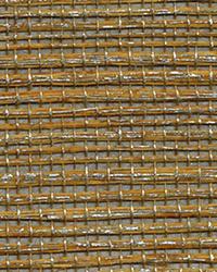 Qixia Copper Grasscloth Wallpaper by