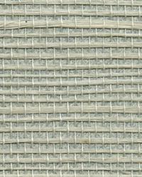 Nantong Light Blue Grasscloth Wallpaper by