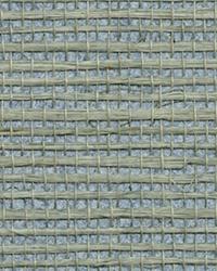 Zhejiang Aquamarine Grasscloth Wallpaper by