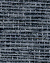 Victoria Indigo Grasscloth Wallpaper by