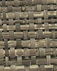 Mindoro Espresso Grasscloth Wallpaper by