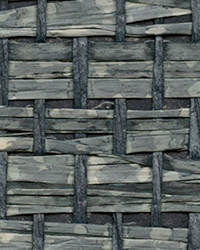 Cotabato Blue Grasscloth Wallpaper by