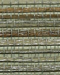 Shandong Sea Green Grasscloth Wallpaper by
