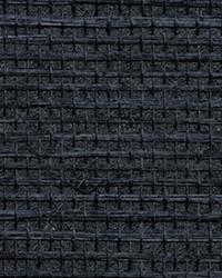 Peninsula Navy Sisal Grasscloth Wallpaper by