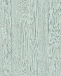 Remi Light Blue Wood Wallpaper by