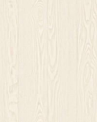 Remi Off-White Wood Wallpaper by