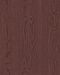 Remi Maroon Wood Wallpaper by
