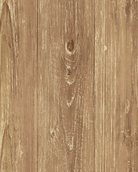 Thatcher Brown Wood Texture Wallpaper by