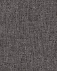 Julius Dark Brown Natural Weave Texture Wallpaper by