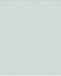 Galley Light Blue Subway Tile Wallpaper by