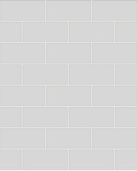 Galley Light Grey Subway Tile Wallpaper by