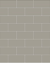 Galley Dark Grey Subway Tile Wallpaper by