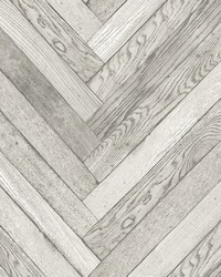 Altadena Light Grey Diagonal Wood Wallpaper by