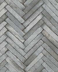 Arrow Grey Diagonal Slate Wallpaper by