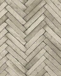 Arrow Neutral Diagonal Slate Wallpaper by