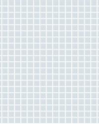 Tessellate Light Blue Glass Tile Wallpaper by