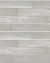 Nika Grey Sleek Wood Wallpaper by