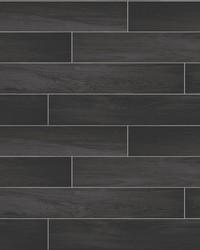 Nika Black Sleek Wood Wallpaper by