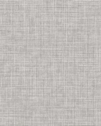 Tuckernuck Grey Linen Wallpaper by