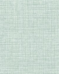 Tuckernuck Teal Linen Wallpaper by