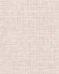 Tuckernuck Rose Linen Wallpaper by