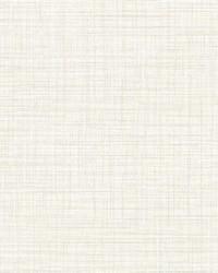 Tuckernuck Off-White Linen Wallpaper by