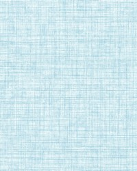 Tuckernuck Aqua Linen Wallpaper by