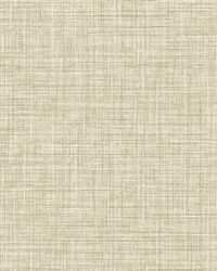 Tuckernuck Wheat Linen Wallpaper by