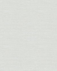 Bluestem Light Grey Grasscloth Wallpaper by