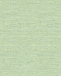 Bluestem Green Grasscloth Wallpaper by