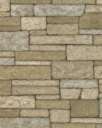 Madeline Grey Stone Texture Wallpaper by