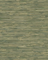 Cate Black Vinyl Grasscloth Wallpaper by