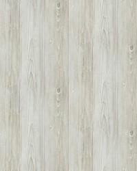 Thatcher Light Grey Wood Wallpaper by